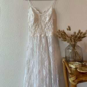 Vintage Hanky Panky bridal night gown